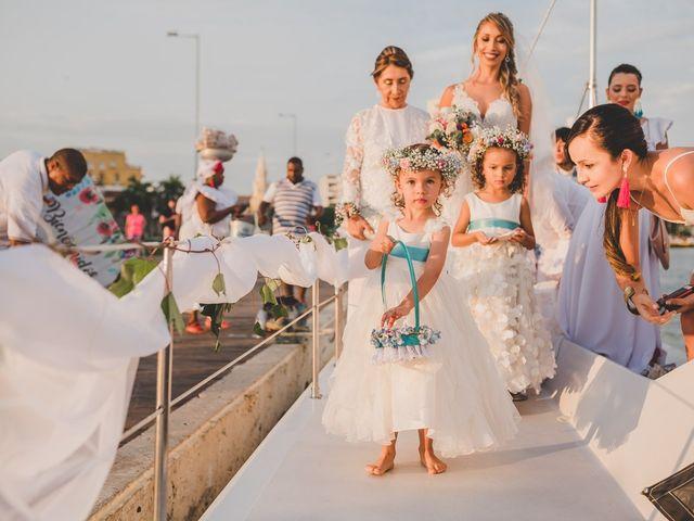 El matrimonio de Óscar y Dianis en Cartagena, Bolívar 11