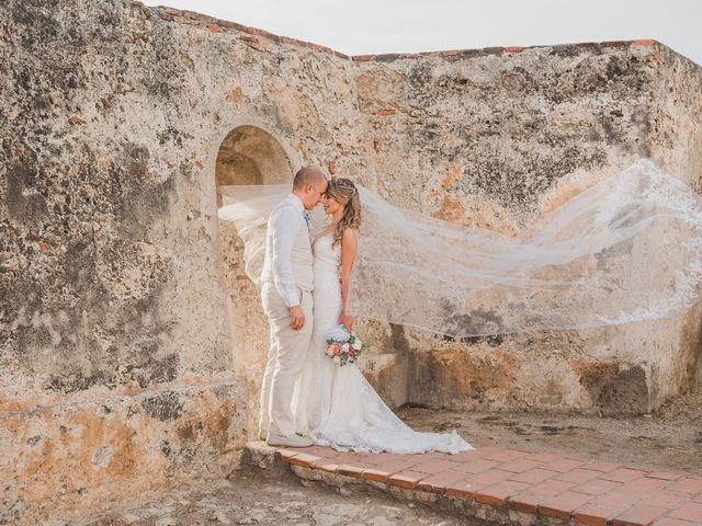 El matrimonio de Óscar y Dianis en Cartagena, Bolívar 12