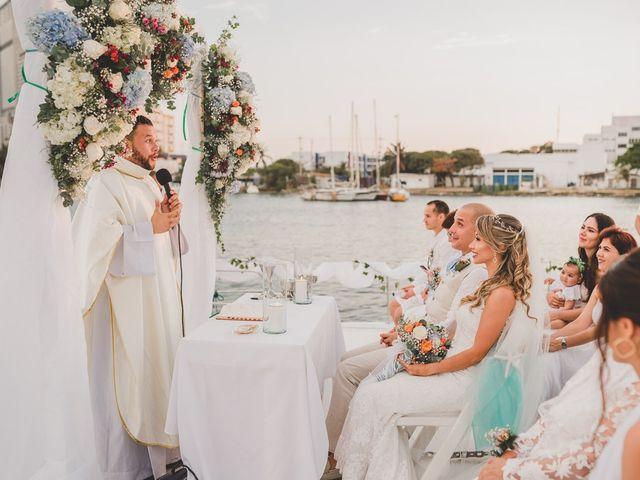 El matrimonio de Óscar y Dianis en Cartagena, Bolívar 14