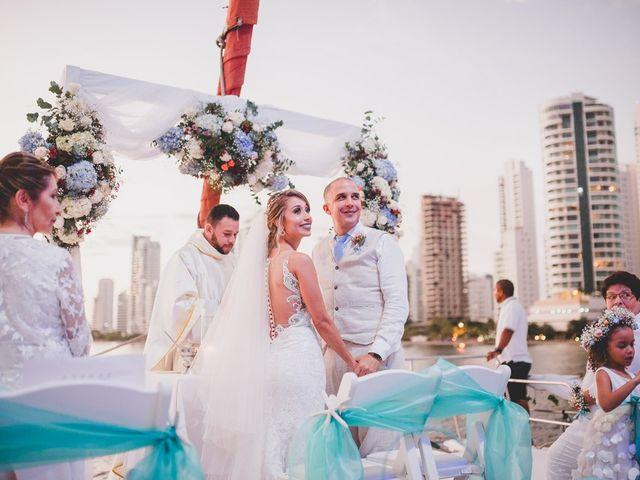 El matrimonio de Óscar y Dianis en Cartagena, Bolívar 15
