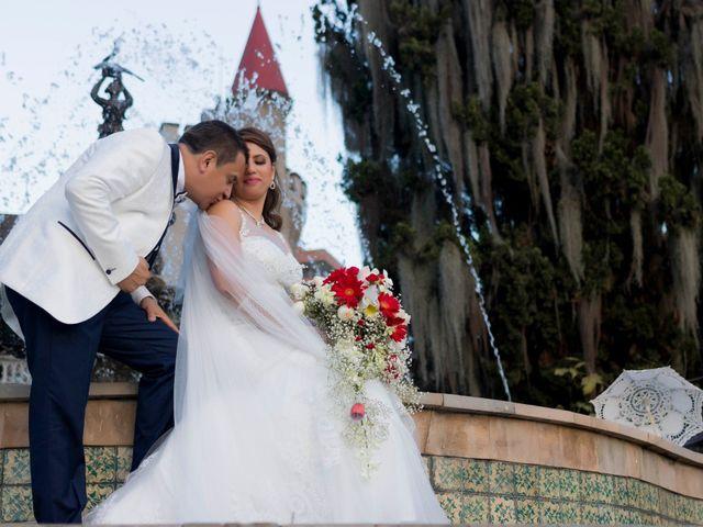 El matrimonio de Mónica y Marco
