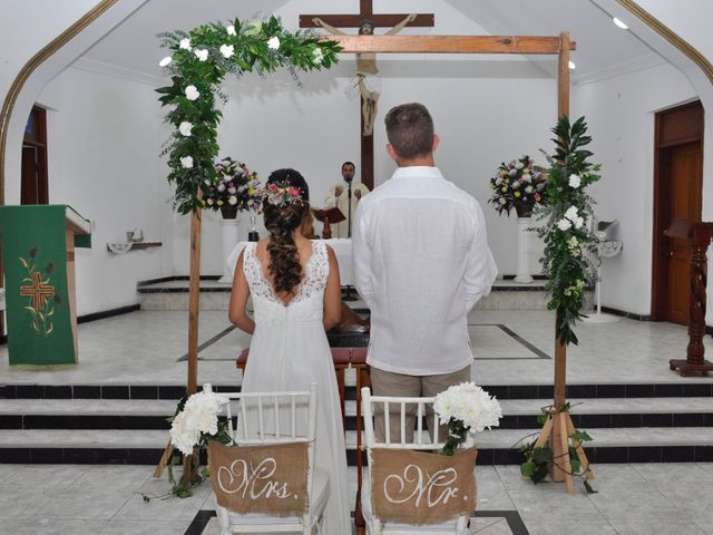 El matrimonio de Christian  y Camila en San Andrés, Archipiélago de San Andrés 15