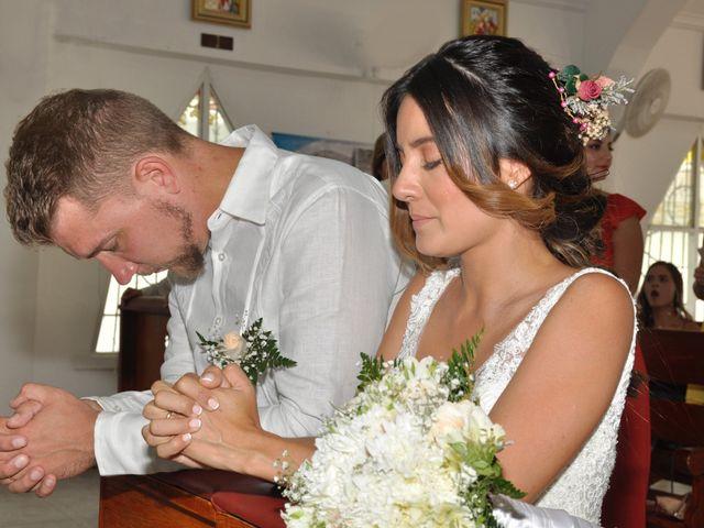 El matrimonio de Christian  y Camila en San Andrés, Archipiélago de San Andrés 18
