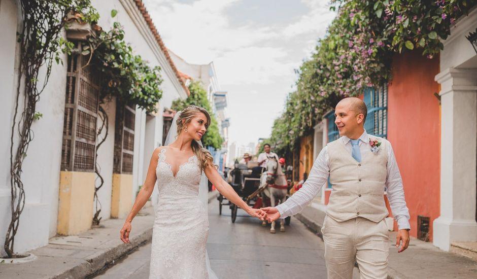 El matrimonio de Óscar y Dianis en Cartagena, Bolívar