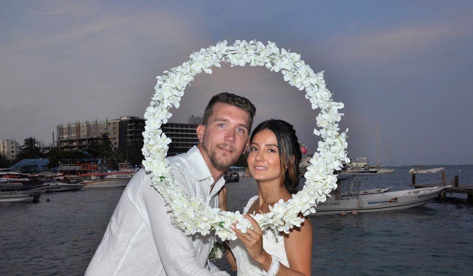 El matrimonio de Christian  y Camila en San Andrés, Archipiélago de San Andrés