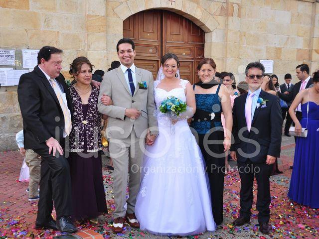 El matrimonio de Andres  y Camila  en Cota, Cundinamarca 15