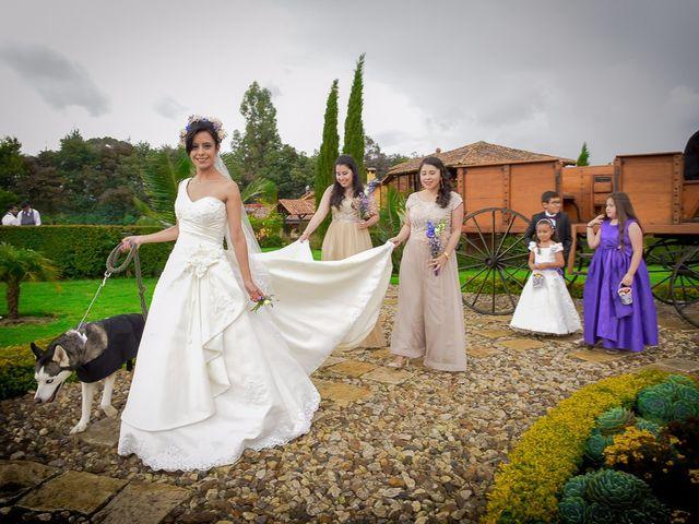 El matrimonio de Jorge y Carolina en Subachoque, Cundinamarca 22