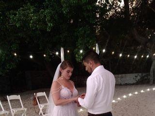 El matrimonio de Jonathan  y Liliana  2