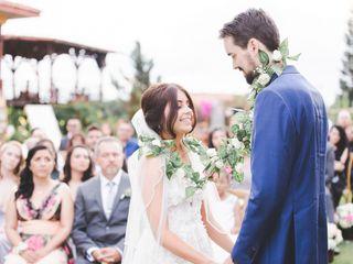 El matrimonio de Kimberly y Benjamín