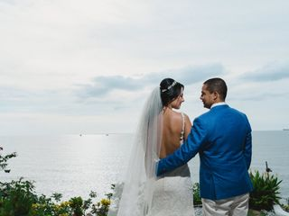 El matrimonio de Andrea  y Darío  2