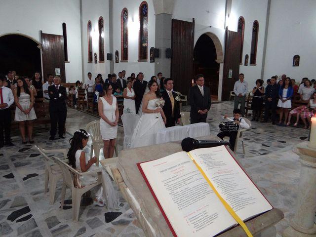 El matrimonio de Luis y Zulay en San Gil, Santander 10