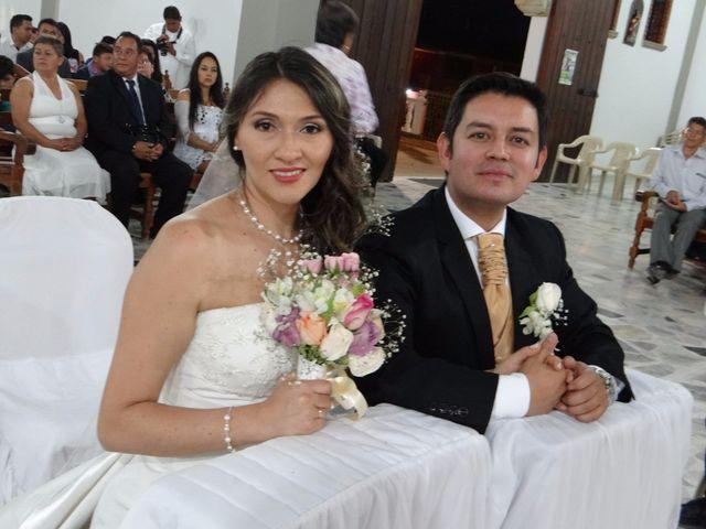El matrimonio de Luis y Zulay en San Gil, Santander 12