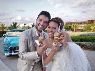 El matrimonio de Natalia  y Santiago