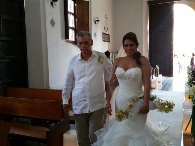 El matrimonio de Santiago y Natalia  en Cartagena, Bolívar 4