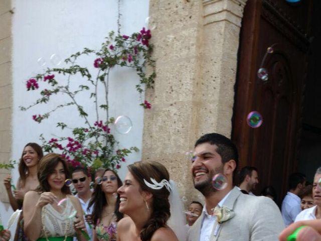 El matrimonio de Santiago y Natalia  en Cartagena, Bolívar 10