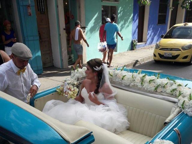 El matrimonio de Santiago y Natalia  en Cartagena, Bolívar 15