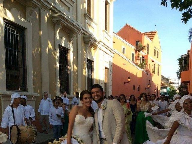 El matrimonio de Santiago y Natalia  en Cartagena, Bolívar 16