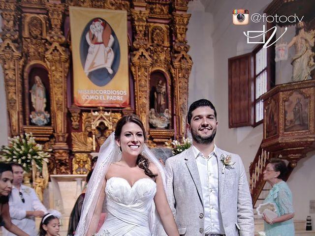 El matrimonio de Santiago y Natalia  en Cartagena, Bolívar 26