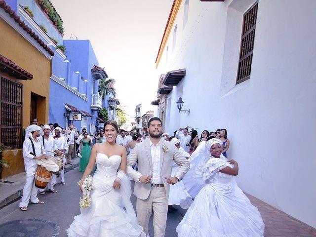 El matrimonio de Santiago y Natalia  en Cartagena, Bolívar 30