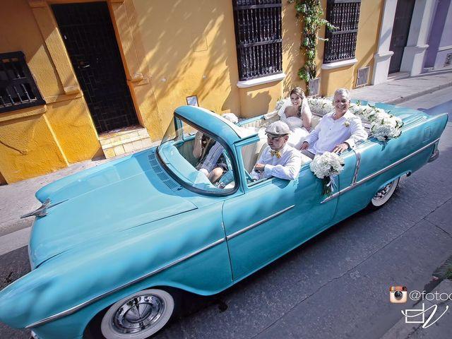 El matrimonio de Santiago y Natalia  en Cartagena, Bolívar 32
