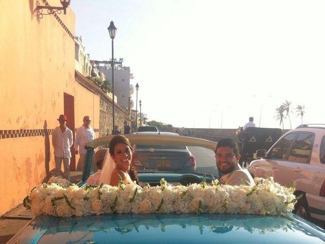 El matrimonio de Santiago y Natalia  en Cartagena, Bolívar 36