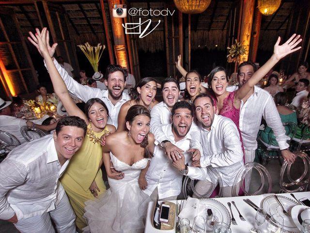 El matrimonio de Santiago y Natalia  en Cartagena, Bolívar 44