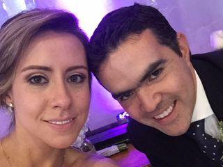 El matrimonio de María Carolina y Andrés