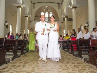 El matrimonio de Crusandy y Rafael
