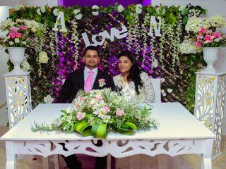 El matrimonio de Alexis y Nohemi