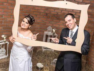 El matrimonio de Verónica y David
