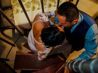 El matrimonio de Katherine y Juan Carlos 1