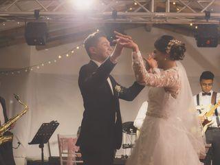 El matrimonio de Vivian y José 1