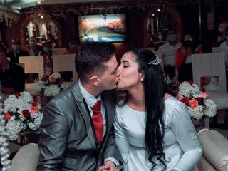 El matrimonio de Nerys y Augusto