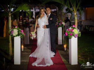 El matrimonio de Tania y Diego