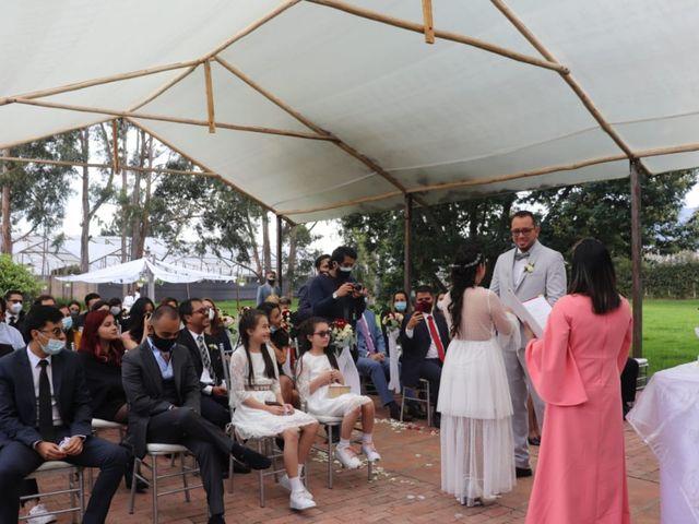El matrimonio de Camilo Andrés y Laura Daniela en Cogua, Cundinamarca 3