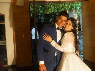 El matrimonio de Joel y Milena