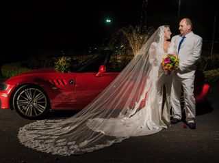 El matrimonio de Lorena  y Jim
