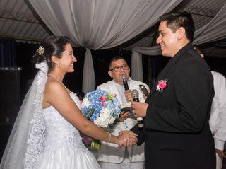 El matrimonio de Nathalia y Wiston