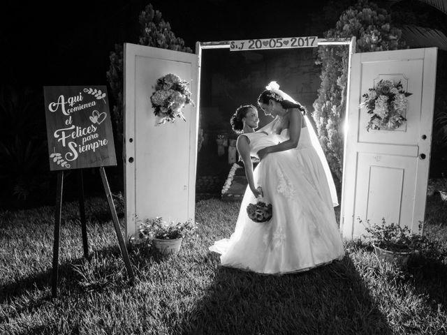 El matrimonio de Shirley y Jhoanna