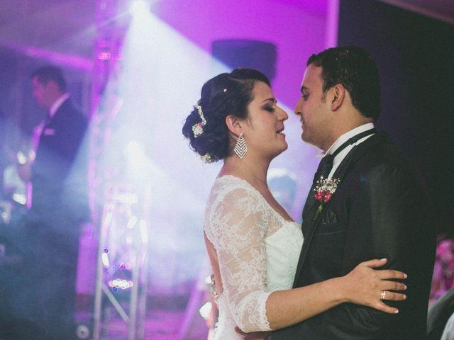 El matrimonio de Sandra y Diego