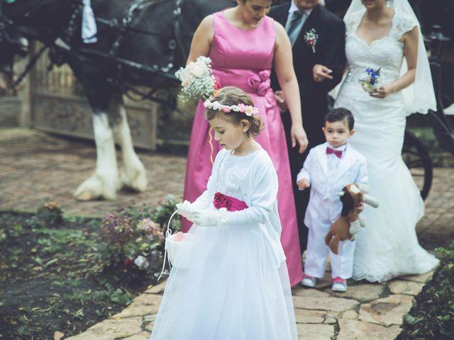 El matrimonio de Rafael y Natalia en Subachoque, Cundinamarca 14