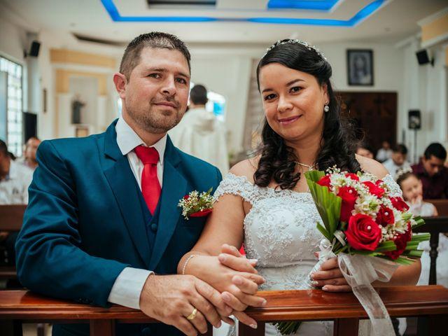 El matrimonio de Cecilia y Wilton