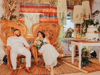 El matrimonio de María Fernanda  y Elkin José