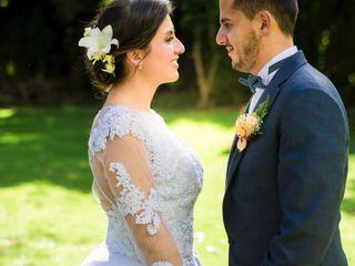 El matrimonio de Mónica y Dani