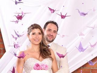 El matrimonio de Flor y David 1