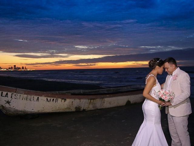 El matrimonio de Juan y Leidy en Cartagena, Bolívar 5
