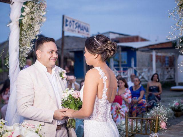 El matrimonio de Juan y Leidy en Cartagena, Bolívar 8