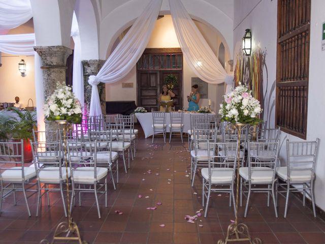 El matrimonio de Thibault y Diana en Cartagena, Bolívar 34
