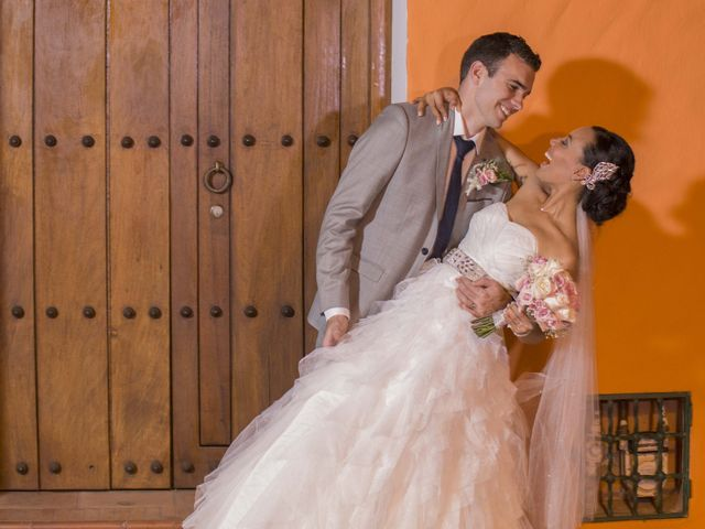 El matrimonio de Thibault y Diana en Cartagena, Bolívar 47