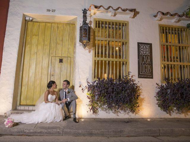 El matrimonio de Thibault y Diana en Cartagena, Bolívar 49